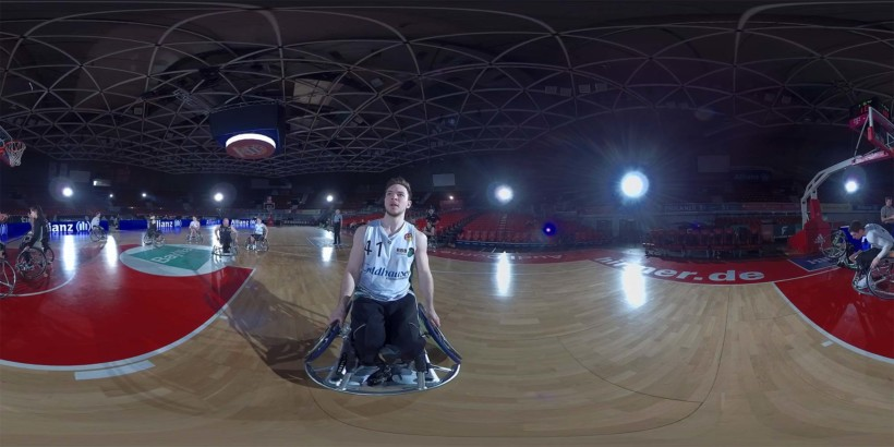 ALLIANZ – Immersive Wheelchair Basketball