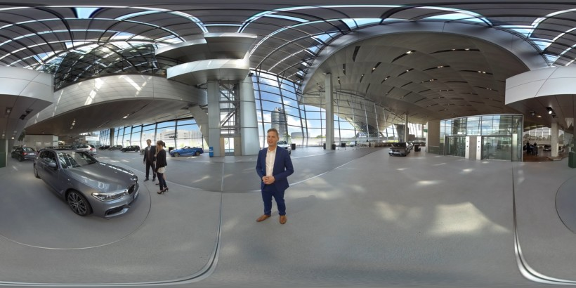 360° BMW Welt