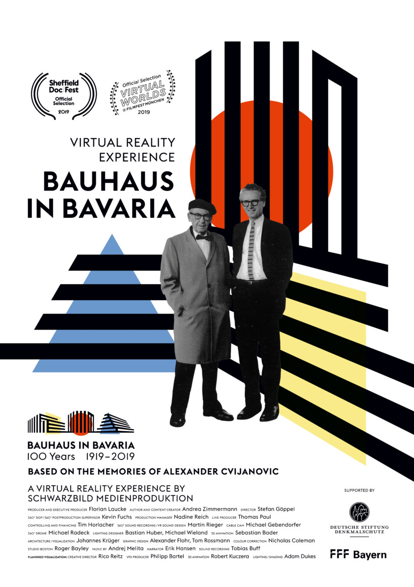 360° Bauhaus in Bavaria